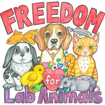 Freedom for Lab Animals by LyndaBell