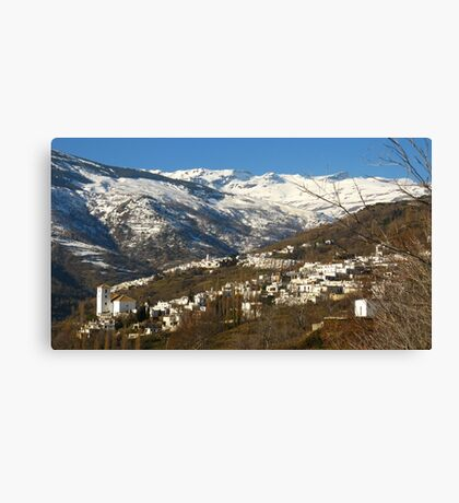The Alpujarras, Spain Canvas Print