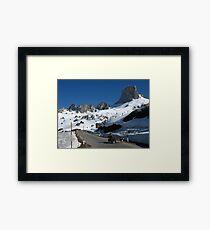 The Dolomites, Italy Framed Print