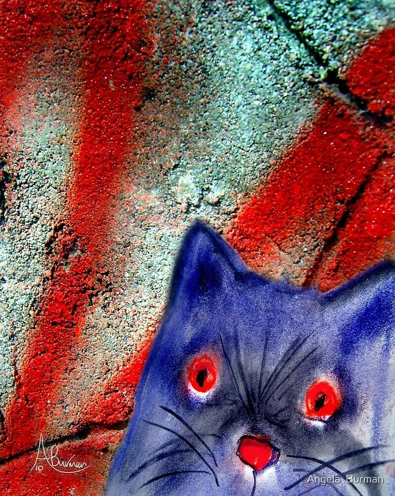 Gordon The Graffiti Cat by Angela  Burman
