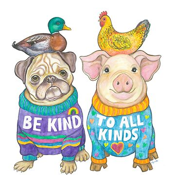 Be Kind to All Kinds by LyndaBell