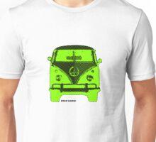 Splitty VW Bus Front Screen Unisex T-Shirt