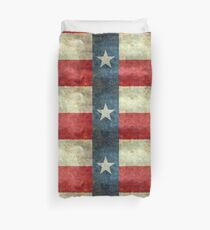 """The """"Lone Star Flag"""" of The Lone State Texas Duvet Cover"""