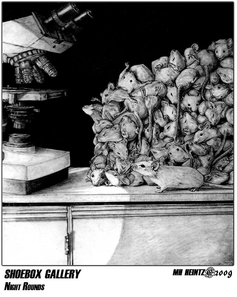SHOEBOX GALLERY: NIGHT ROUNDS by MH Heintz