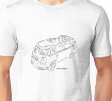 Squiggle VW Bus Unisex T-Shirt