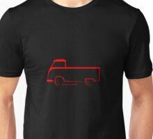 Split VW Bus Shape Single Cab Unisex T-Shirt