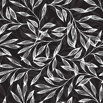 White branches on black by Anviczo