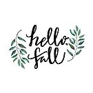 hello, fall by wallabysway