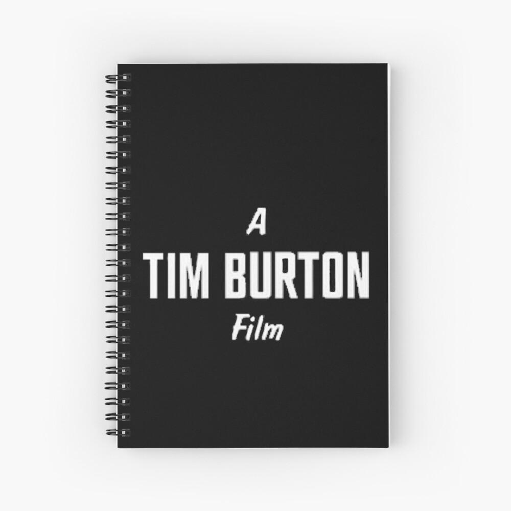 Tim Burton. Spiralblock