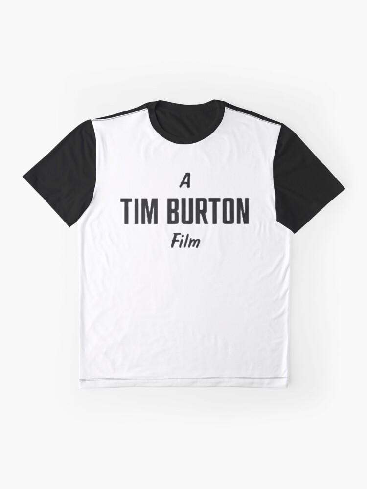 Alternative Ansicht von Tim Burton. Grafik T-Shirt