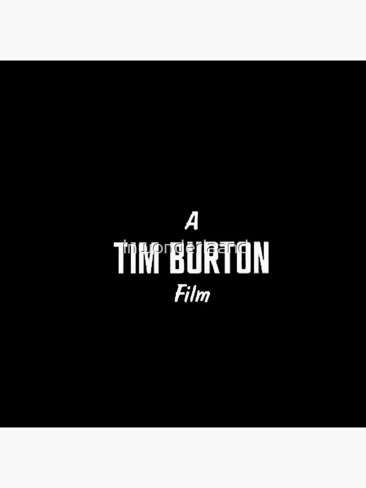 Tim Burton. von inwonderlaand