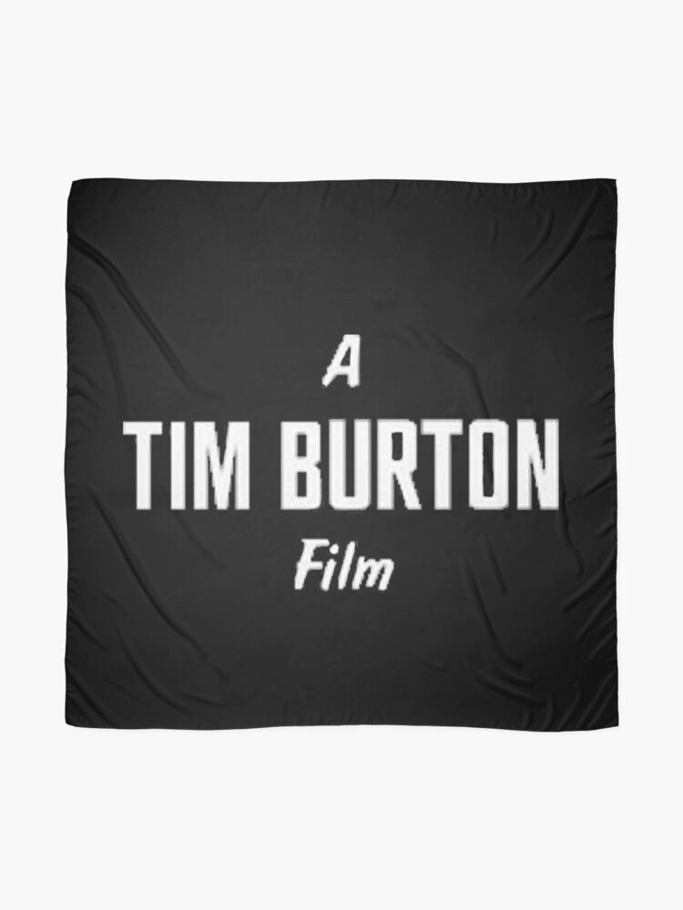 Alternative Ansicht von Tim Burton. Tuch