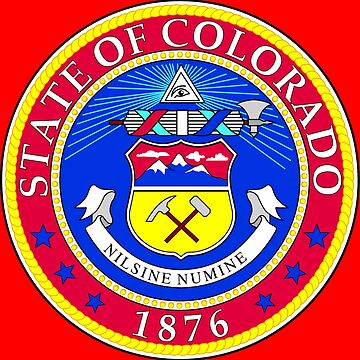 COLORADO STATE SEAL by planetterra