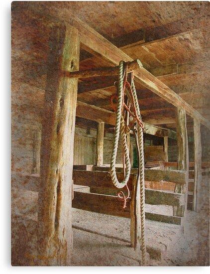 Horse Barn: Montana by kayzsqrlz
