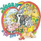 Vegan For Life by Lynda Bell