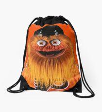 Gritty Philadelphia Flyers Mascot Drawstring Bag