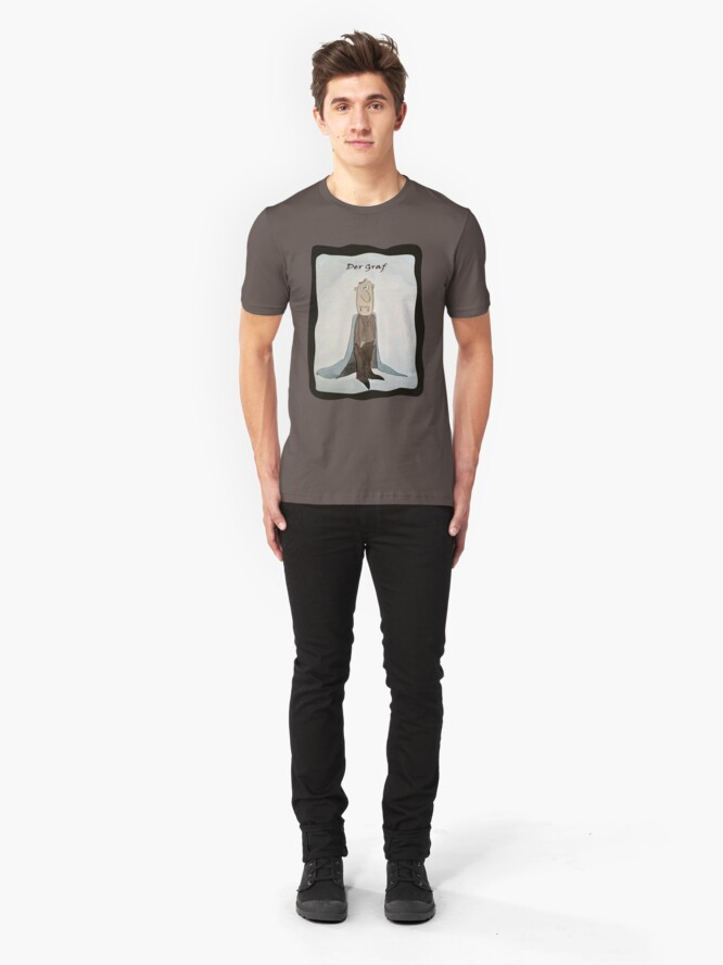 Alternate view of Der Graf (The Count) Slim Fit T-Shirt