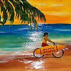 Beach Bike Patrol  by WhiteDove Studio kj gordon