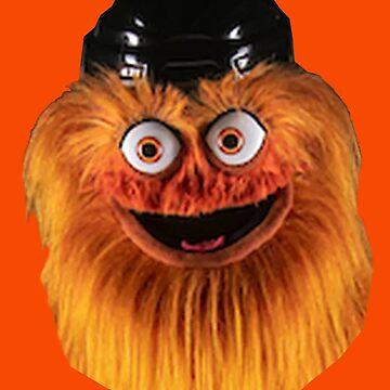 Gritty Philadelphia Flyers Mascot by rje20