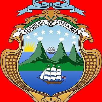 COSTA RICA COAT OF ARMS by planetterra