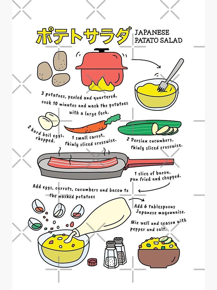 Japanese Potato Salad  by Miri-Noristudio