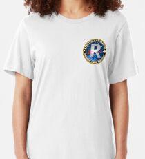 Truth Revolution Badge Style V15 T-shirt ajusté