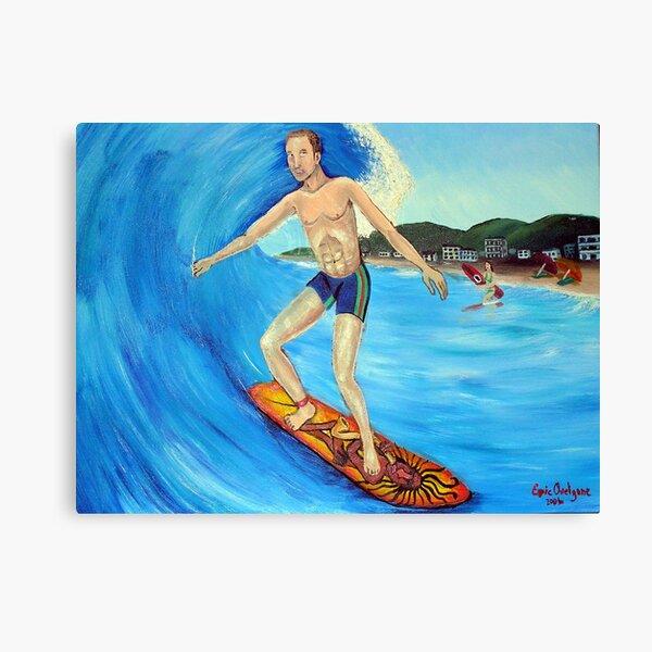 Surfer God or Surfer Dude Canvas Print