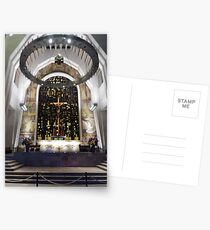 Saint Joseph's Oratory of Mount Royal, Montreal #Montreal #City #MontrealCity #Canada #SaintJoseph #Oratory #Mount #Royal #MountRoyal #buildings #streets #places #views #pedestrians #architecture Postcards