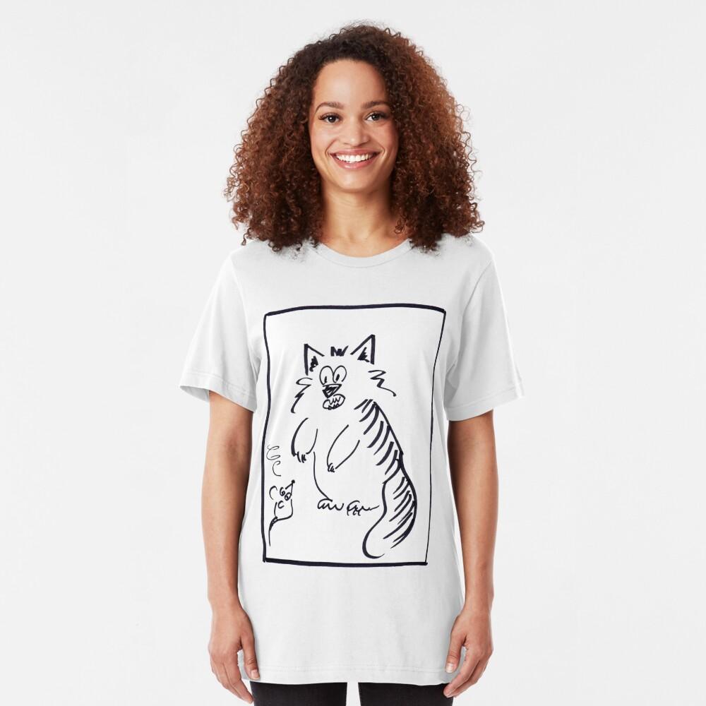 Mousid and Catliad Slim Fit T-Shirt
