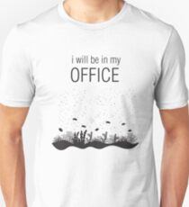 I will be in my office scuba dive t shirt Unisex T-Shirt