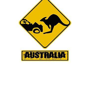 Kangaroo vs. Car by colintobin