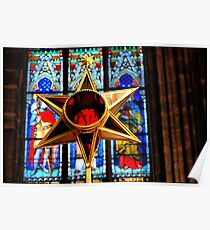 St. Vitus Cathedral. Decoration Poster