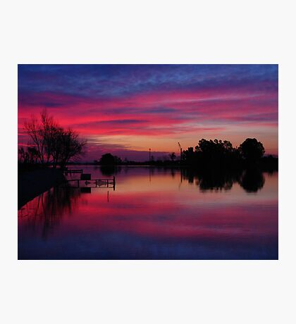 Ebro Delta, Spain Photographic Print