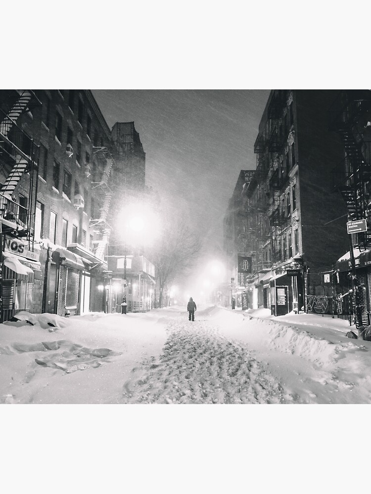 Blizzard in New York City by vgucwaphoto