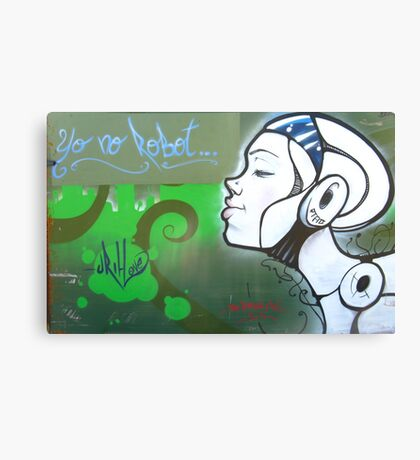 Yo No Robot, Spain Canvas Print
