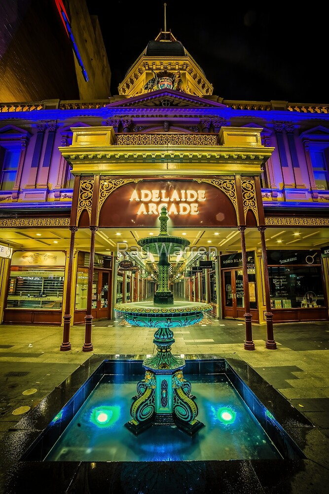 Adelaide Arcade Facade (full image) by Ray Warren