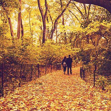 Hojas de otoño - Nueva York de vgucwaphoto