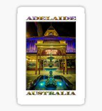 Adelaide Arcade Facade (poster edition) Sticker