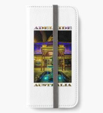 Adelaide Arcade Facade (poster edition) iPhone Wallet/Case/Skin
