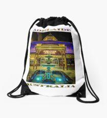 Adelaide Arcade Facade (poster edition) Drawstring Bag