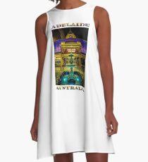 Adelaide Arcade Facade (poster edition) A-Line Dress