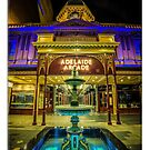 Adelaide Arcade Facade (poster edition) by Ray Warren