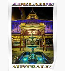 Adelaide Arcade Facade (poster edition) Poster
