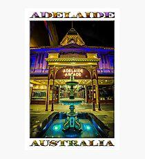 Adelaide Arcade Facade (poster edition) Photographic Print