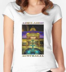 Adelaide Arcade Facade (poster edition) Women's Fitted Scoop T-Shirt
