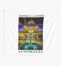 Adelaide Arcade Facade (poster edition) Wall Tapestry