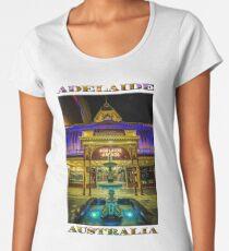 Adelaide Arcade Facade (poster edition) Women's Premium T-Shirt