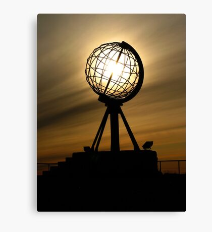 Nordkapp, Norway Canvas Print