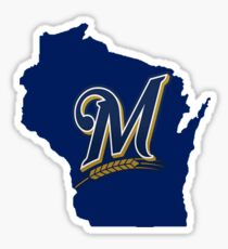 Wisconsin: Milwaukee Brewers Sticker