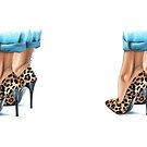 Leopard heels by Elza Fouche